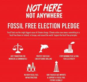 Fossil Free Election Pledge